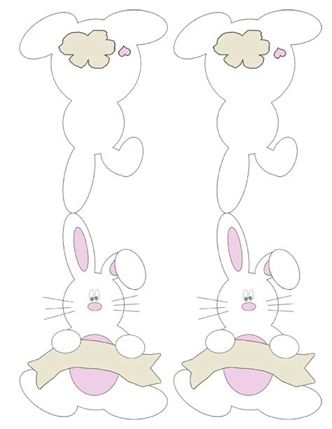Easter Place Card Template by Free Printable Bunny Place Cards Print Me