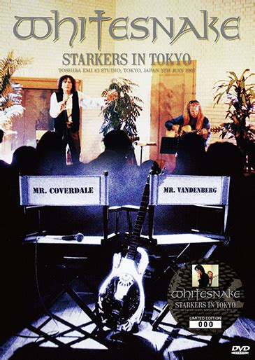 Whitesnake Starkers In Tokyo Dvd new releases from rainbow with adam lambert