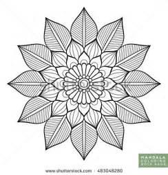 Buddhist Mandala Outline by 25 Best Ideas About Mandala Flower Tattoos On Mandala Sleeve Paisley