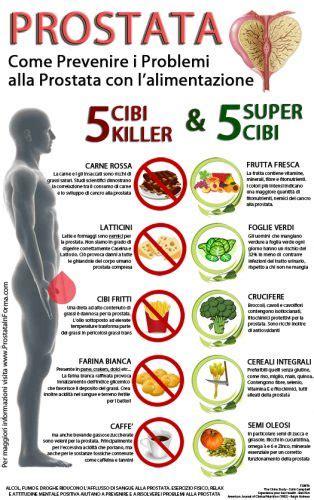 alimenti fanno bene alla prostata prostata e cibi i 5 cibi killer ti uccidono e i 5