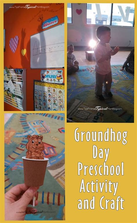 groundhog day kindergarten activities groundhog day preschool ideas craft activity song