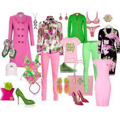 alpha kappa alpha colors sorority fashion on sigma gamma rho aka