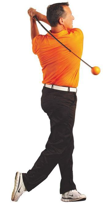 orange ball swing trainer golf swing trainer