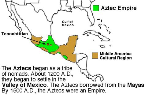 aztec empire map aztec civilization map www imgkid the image kid has it