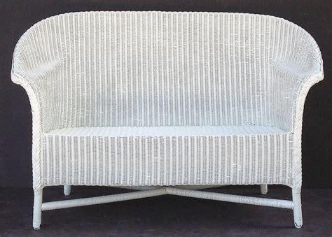 loom sofa lloyd loom sofa with cushion seat at 1stdibs