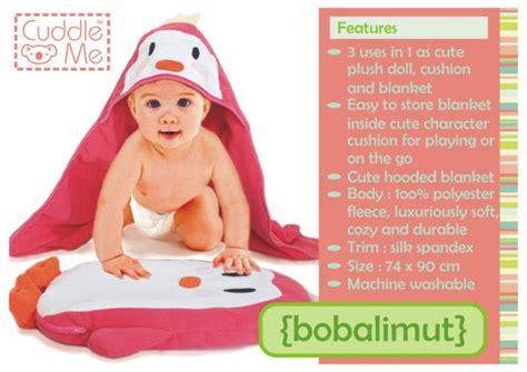 Cuddle Me Bobalimut Bayi Ruby bobalimut cuddleme boneka bantal selimut bayi grosir