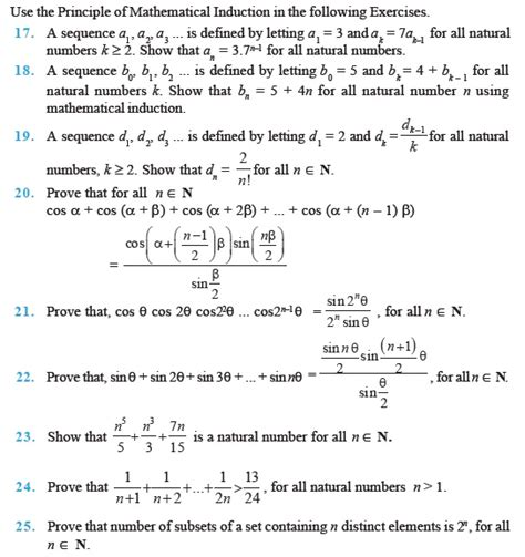 principle of mathematical induction questions and answers class 11 important questions for maths principle of