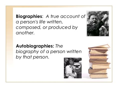literary biography meaning literary genres