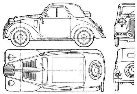500 Sketches Pdf by Car Blueprints Fiat 500 Topolino Blueprints Vector