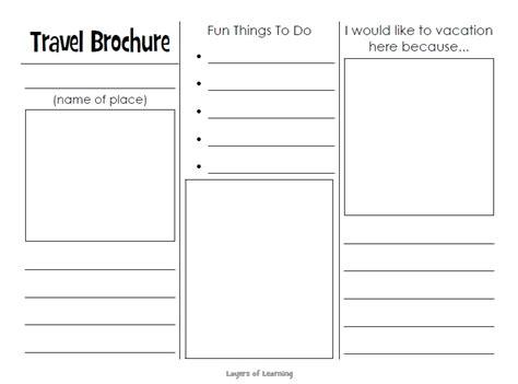 Tourist Brochure Template by 10 Free Sle Tourist Brochure Templates Printable Sles