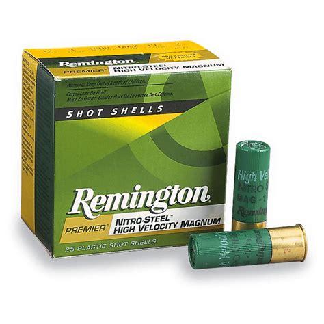 Of Steel 12 remington nitro steel 20 3 quot 1 oz 25 rounds