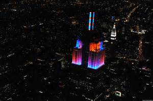light show nyc empire state building light show led display synchronized