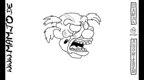 zombie zeichnen tutorial horror clown zombie clown bad clown zeichnen einfach