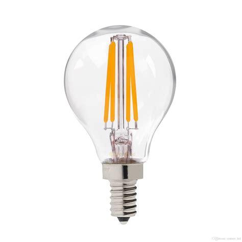 retro filament light retro led filament light bulb 4w e12 e14 base edison g45