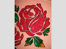 Crystal Glass painting - Beautiful Red Roses | Calligraphy ... Easy Flower Designs For Glass Painting