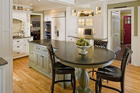round kitchen table ideas with good design mykitcheninterior