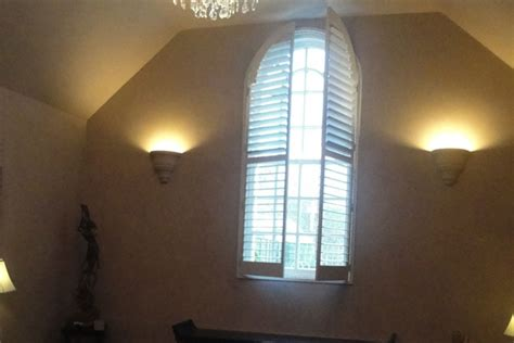 arch window shutters interior arched window shutters west country shutters