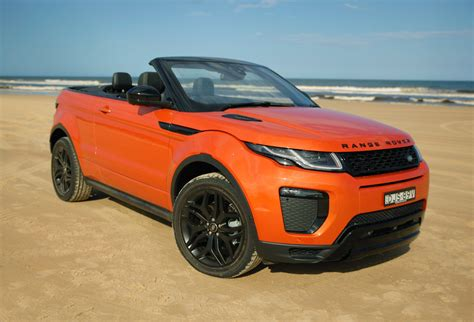 orange range rover 2017 range rover evoque convertible review caradvice