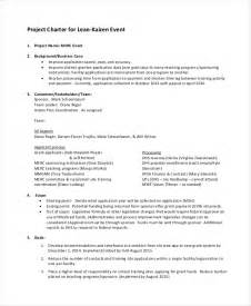 Project Charter Template Simple by Project Charter Template 10 Free Word Pdf Documents
