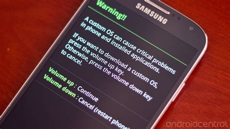 how to update software on the samsung galaxy s4 android central