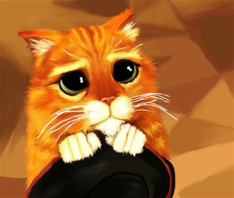 puss in boots painting puss in boots by purplecookiedoe on deviantart