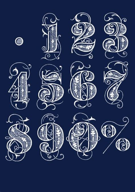 nice tattoo number fonts 17 best ideas about number fonts on pinterest chalkboard