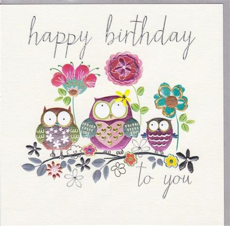 printable owl birthday card owls birthday card birthday ideas pinterest