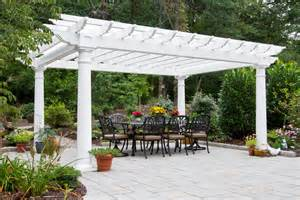 Vinyl Pergola by What Is A Pergola Byler Barns