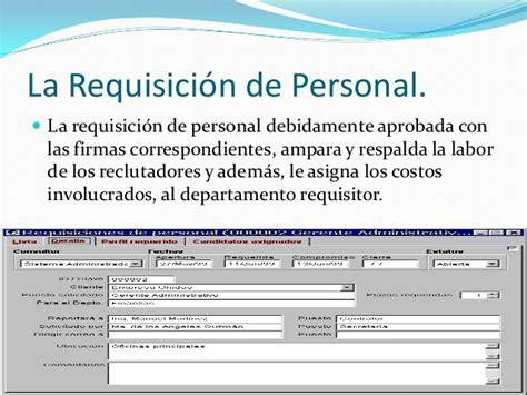 formato de una requsici 243 n ejemplo de formato de requisicin de personal si rh 2 06