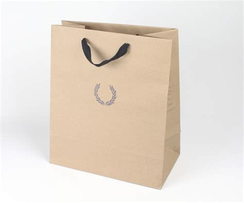 Paper Bags - brand paper bag fred perry brand paper bag