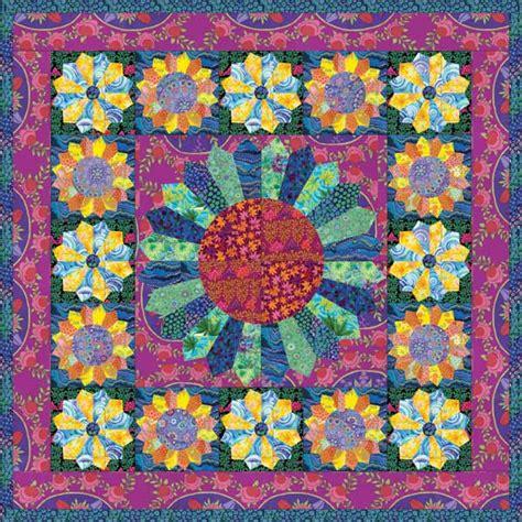 Kaffe Fassett Quilt Kits by Kaffe Fassett Fabrics 2016 Flower Show Quilt Kit 62 By 62