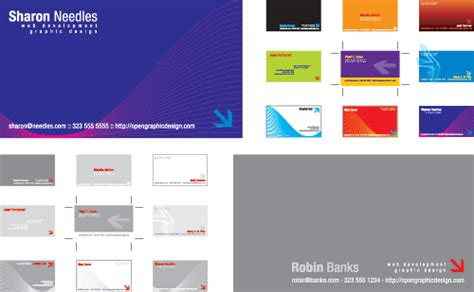 Business Cards Templates Ai Free by Free Business Card Templates Free Vector Illustrator Eps
