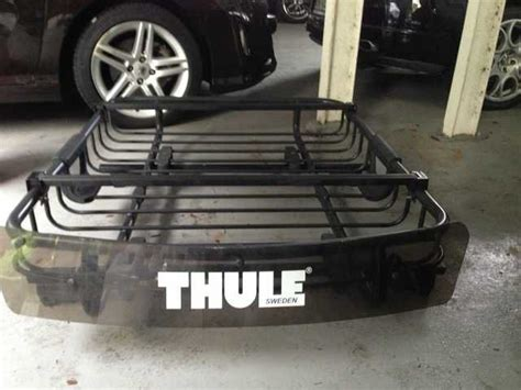 Luggage Rack Singapore thule luggage roof rack basket for sale in singapore