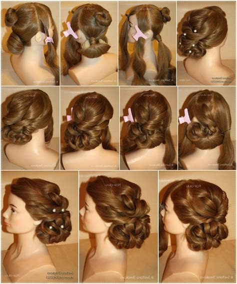 Wedding Hair Up Styles Step By Step by Hair Style Step By By Image Haircuts Black