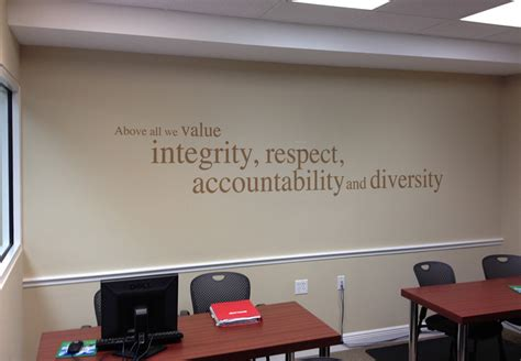 Room Place Customer Service by Best Uses For Corporate Wall Graphics In Kansas City