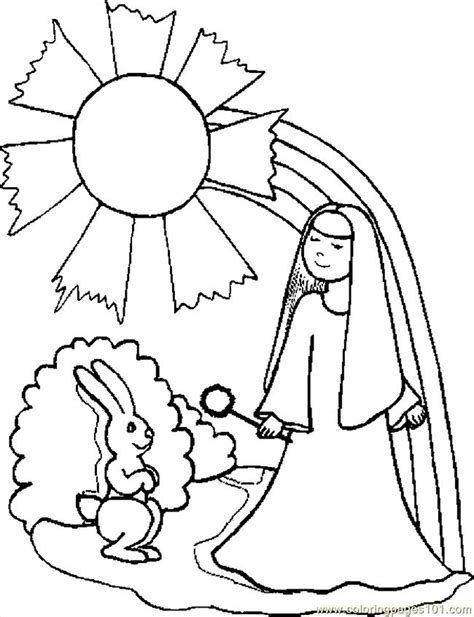 girl bunny coloring pages bunny with girl coloring page free holidays coloring