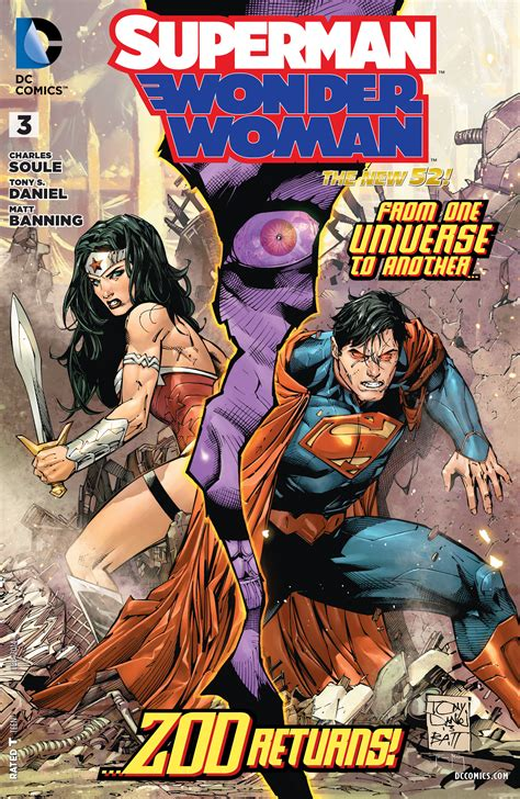 Kaos Justice League Dc 3 Batman Superman Wonderwoman superman vol 1 3 dc database fandom powered by wikia