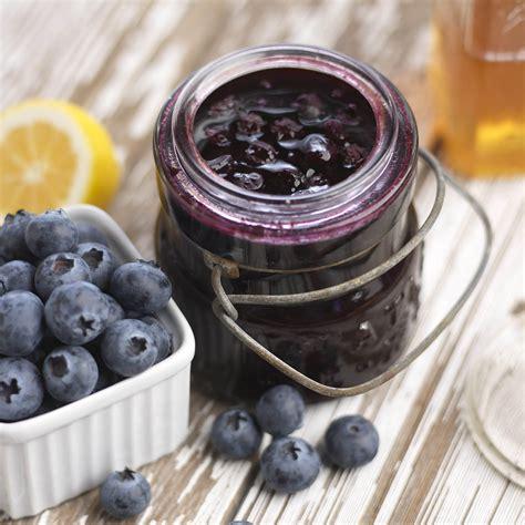 Blueberry Jam Keysha Series lemon honey blueberry jam recipe