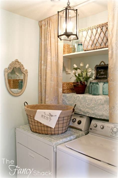 using tension rods to hang curtains 10 ways to use tension rods in your home laundry room