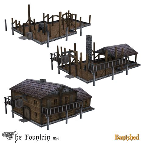 banished game fountain mod the fountain mod for banished image mathieuso mod db