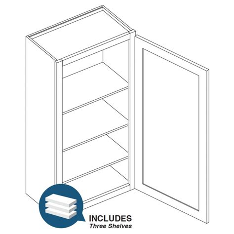 18 wall cabinets 18 quot wall cabinet 42 quot shakercabinetsupply com