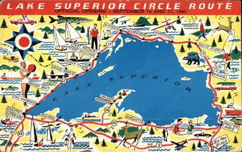 Wawa E Gift Card - lake superior circle route maps
