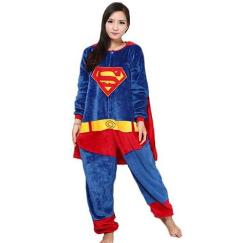 White Superman Big Size Shortpants Pajamas coulhunt 2017 captain america costume pajamas