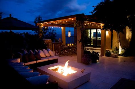 Patio Cover Lighting Ideas Landscaping Network Outdoor Pergola Lighting Ideas