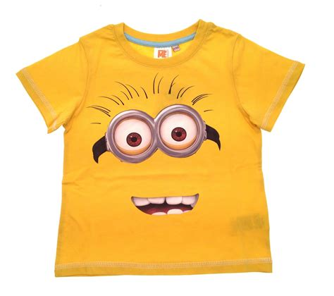 T Shirt Kid 4 boys official despicable me minions t shirts summer tops size 3 16 y ebay