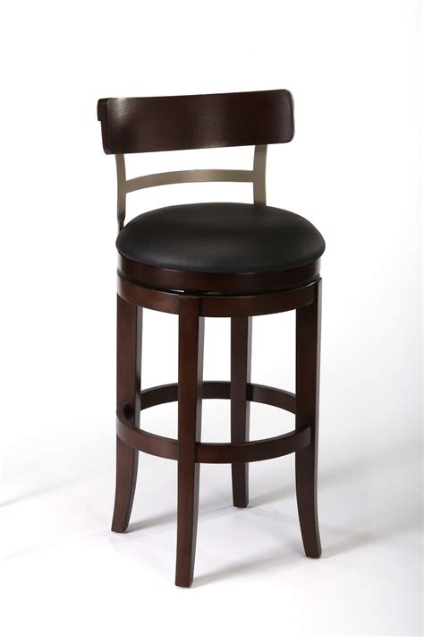 pewter bar stools hillsdale bauer swivel bar stool espresso pewter 4807