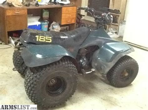 Suzuki Lt 185 Armslist For Trade 1989 Suzuki Lt 185 4 Wheeler