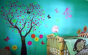 Painting Wall Murals Ideas Decorazioni Per Le Pareti Della Cameretta Dei Bambini