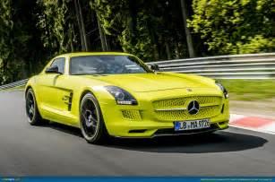 Mercedes Sls Electric Ausmotive 187 Mercedes Sets New Electric Record At