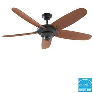 Hampton Bay Outdoor Ceiling Fan Hampton Bay 52356 Altura 60 In Indoor Outdoor Oil Rubbed